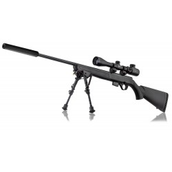 PACK MOSSBERG PLINKSTER 817 - 17HMR SYNT +LUN. 3-9X40 +MONT.+ BIPIED + MODERATEUR DE SON PACK MOSSBERG PLINKSTER 817 - 17HMR SYN