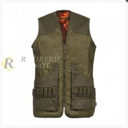 GILET PERCUSSION SAVANE REVERSIBLE T.M
