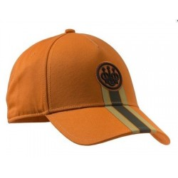 CASQUETTE STRIPED CAP BERETTA ORANGE 27684