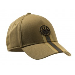 CASQUETTE STRIPED CAP BERETTA TAN UNI 27651