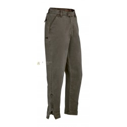PANTALON FUSEAU CLUB INTERCHASSE LERY MARRON CIPN102 : TAILLE - 42