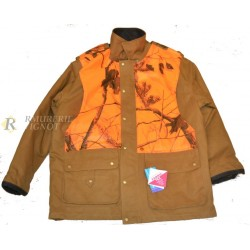Veste SANCERRE Camel ORANGE BRAQUE LG02576 : TAILLE - 5XL