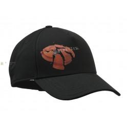 CASQUETTE STRIPED CAP BERETTA NOIR GRIS 27819