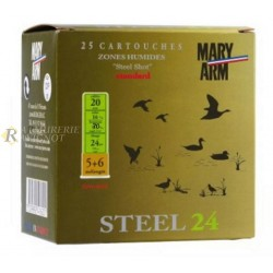 cartouche mary STEEL 24 CAL.20 5+6 BTE25 C20ST246