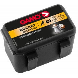 Plombs Rocket Destructor 4,5 mm / 5,5 mm - GAMO Plombs ROCKET DESTRUCTOR 4,5 mm-G3320