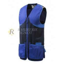 Beretta Gilet de Tir Full Cotton Bleu Marine GT681