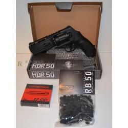 PACK PRET A TIRER T4E HDR50 CAL 50 - 11 J (100 BILLES, 5 CART CO2, 24758P