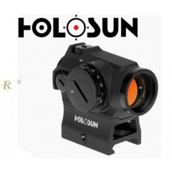VISEUR HOLOSUN 2MOA NOIR POINT ROUGE HS403R