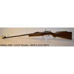 MANU-ARM 1COUP Modèle : MOD 6 22LR 29871