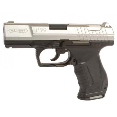 Réplique pistolet Walther P99 bicolore (magazin)