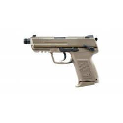 Réplique H&K 45 CT FDE gaz blow-back 0,9j - UMAREX