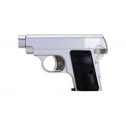 Réplique pistolet GH25 silver gaz culasse fixe
