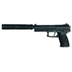 Réplique pistolet MK23 full set Noir gaz GNB Pistolet MK23-PG1200