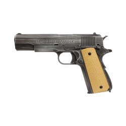 Réplique GBB 1911 Molon Labe Grip tan - AW CUSTOM