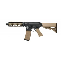 Réplique AEG GR4 CQB-S mini Noir / tan blowback 1j - G&G