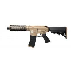 Réplique AEG GR4 CQB-S mini DST tan / Noir blowback 1j - G&G