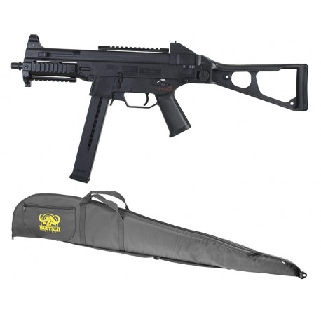 Pack AEG H&K UMP45 COMPLET 1,1J Noir + housse offerte - UMAREX