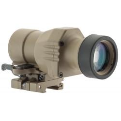 Magnifier x 4 tech 800 tan we