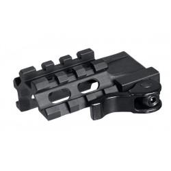 Rail UTG Quad 1 slot 63 mm 16 mm-A67072