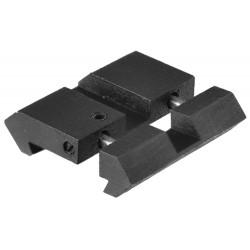 Lot de 2 adaptateurs pour rails 11 mm - 21 mm