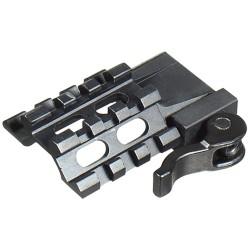 UTG Tri-Rail/3 Slot Montage angulaire QD