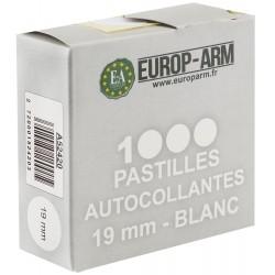 Pastilles autocollantes blanches diam. 15 ou 19 mm Diam.15 mm-A52416