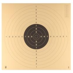 Cibles C50 hydrofuge 55 x 55 pistolet ou Carabine