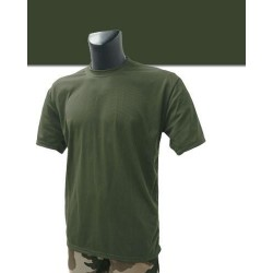 Tee shirt militaire Vert