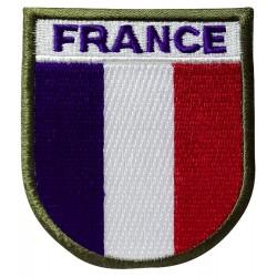 Ecusson France Basse visibilité - Auto-agrippant-T801301