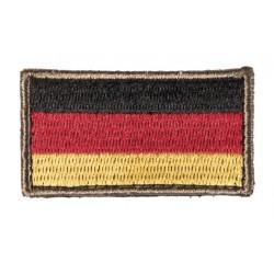 Patch brodé drapeau allemand 3.5 x 6cm-A60470
