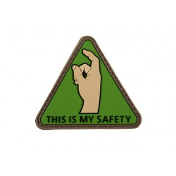 Patch PVC This is my Safety-A60303